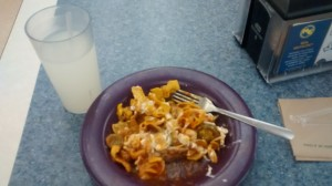 This Frito Pie was tasty so I ate it. Yum.